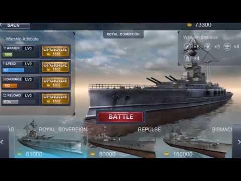 Sea Battle Warship (3D)