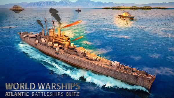 World Warships Atlantic Battleships Blitz