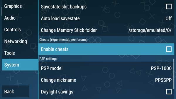 Best PPSSPP Gold Settings To Play Smooth Games