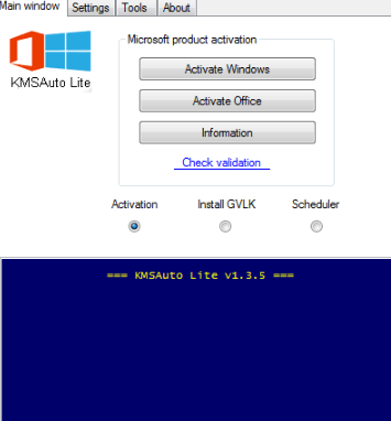Activation Windows