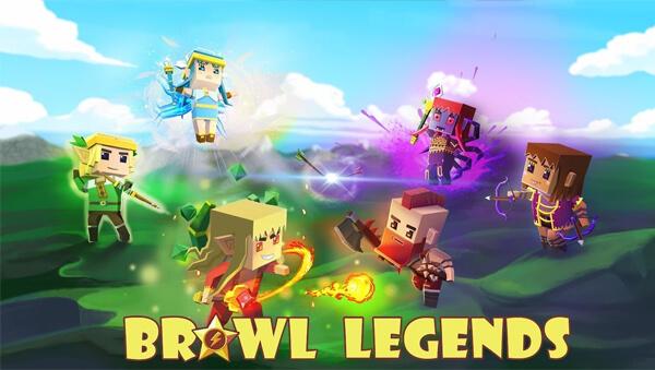 Brawl Legends.io - Mobile 5vs5 & 3vs3 Brawler