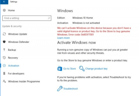 How to Activate Windows 10Product key