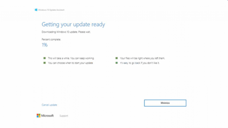 How to Get the Update Windows 10 Via Windows