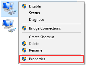 Properties Connection