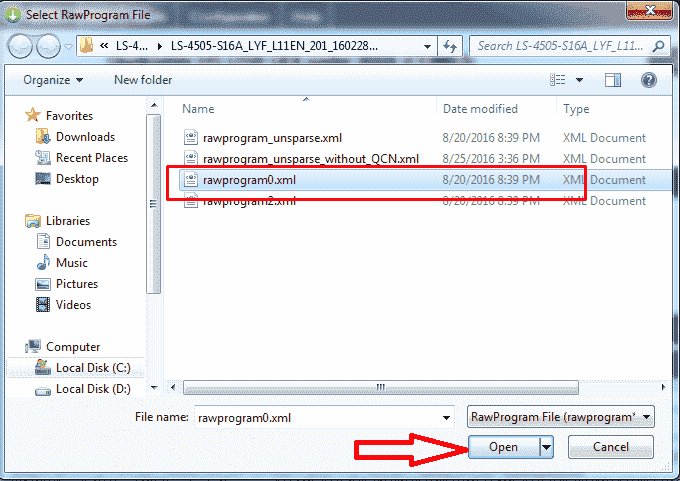 File XML QFIL