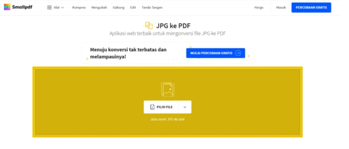 How to Convert JPG Files to PDF Online