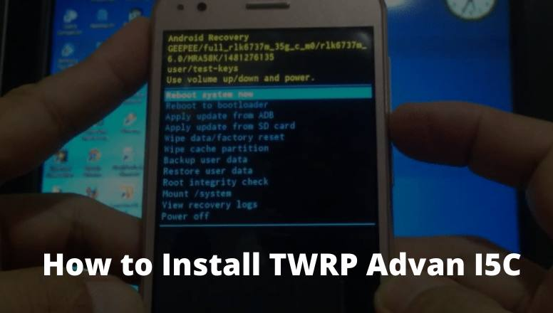 How to Install TWRP Advan I5C