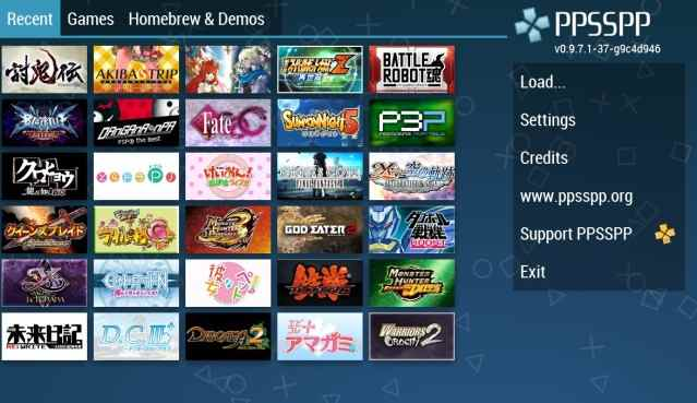 Smooth Collection of PPSSPP Android Games