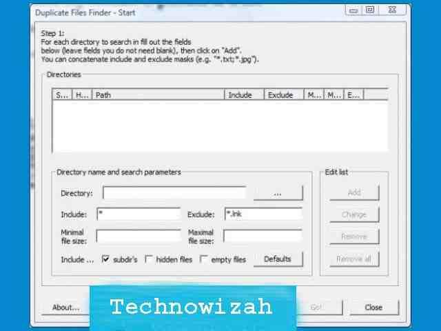 Duplicate FilesFinder