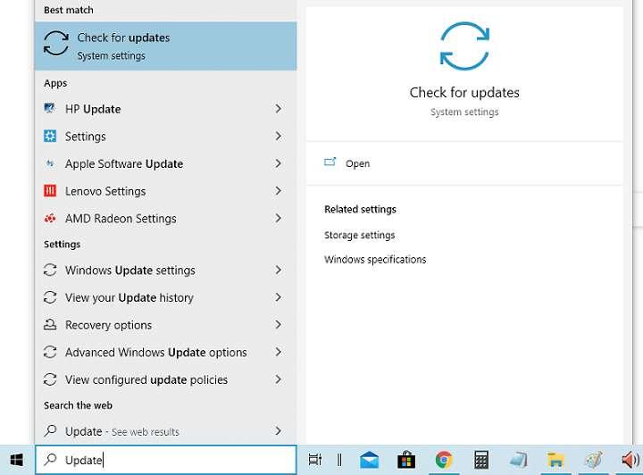 Install software via Windows Update