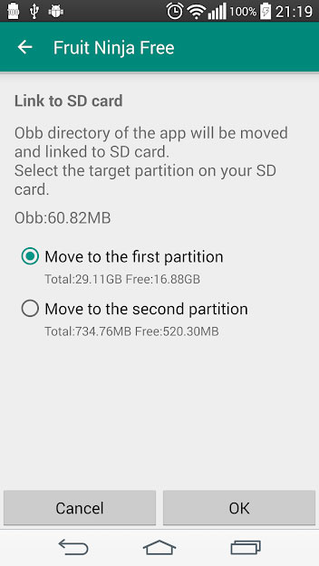 Link2Sd Pro APK features 4