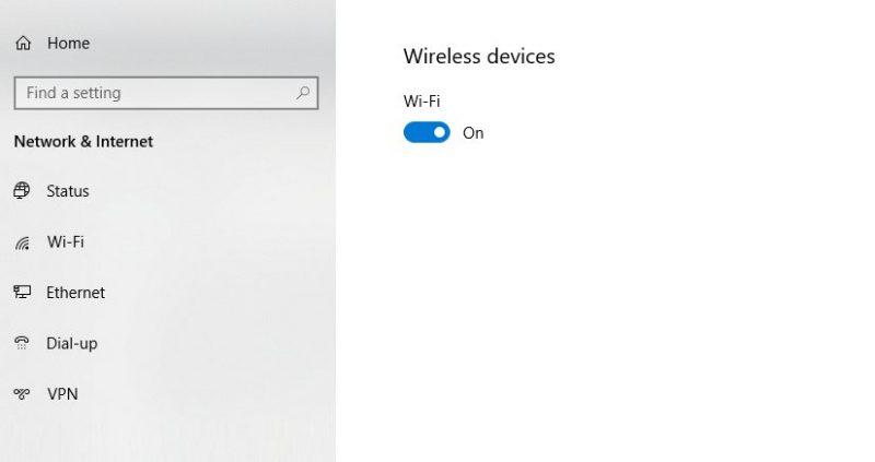 Configure Internet access on the printer
