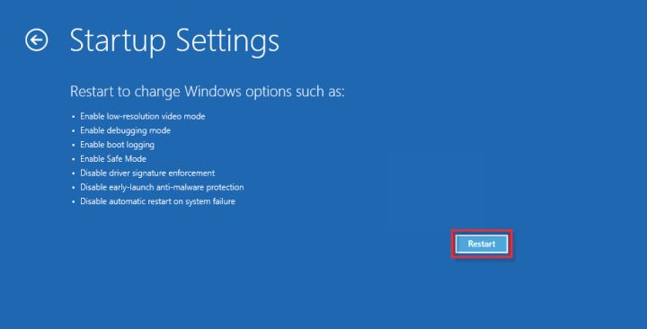 How to enter Safe mode in Windows 10