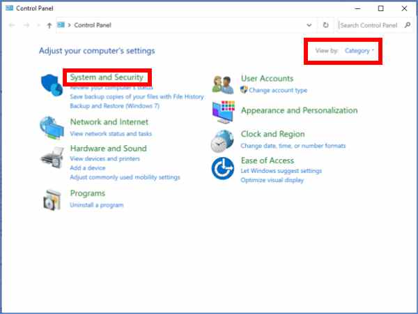 How to open Administrative Tools in Windows 10