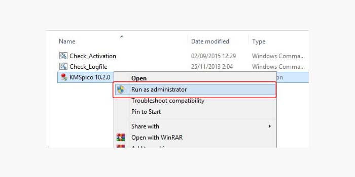 Activate Windows 8 with KMSPico