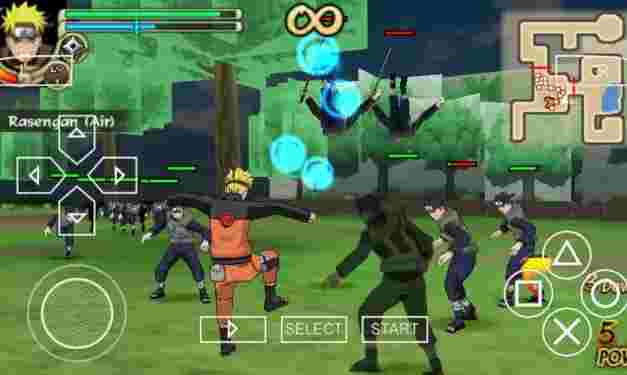 Download the PPSSPP Naruto Ultimate Ninja Heroes Game