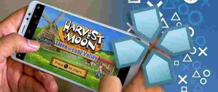 Hero of Leaf Valley Harvest Moon Game