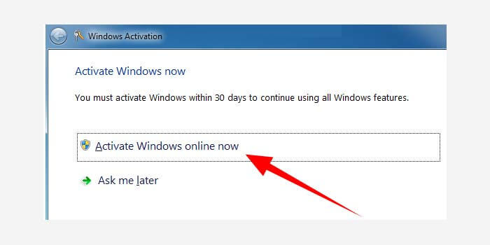 How to Activate Windows 7 Without Software