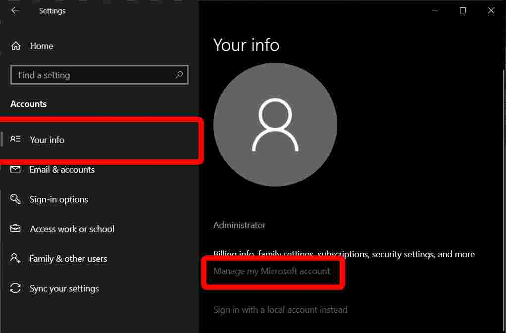 How to Change Windows 10 Administrator Name