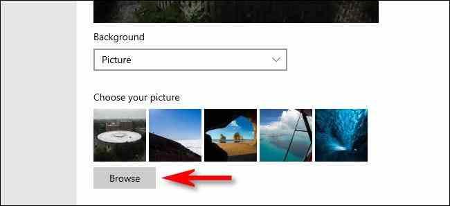 How to Change Windows 10 Lock Screen Background
