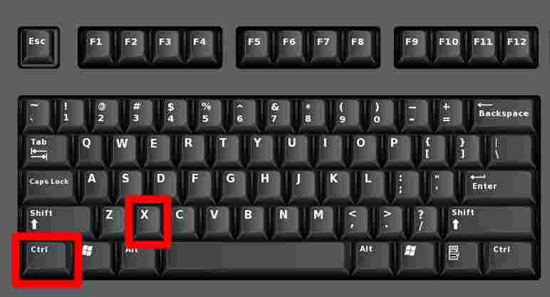 How to Cut Paste in Windows 10 Using Keyboard Shortcuts