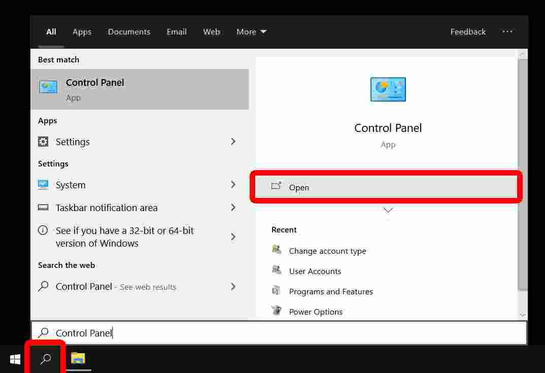 How to Delete Administrator Account in Control Panel