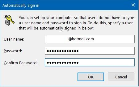 How to Disable Windows 10 Password