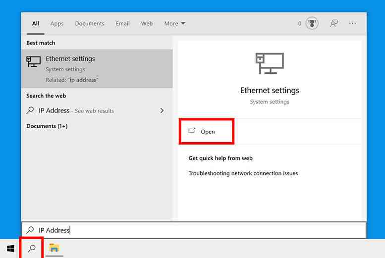How to Find IP Address on Windows 10 PC