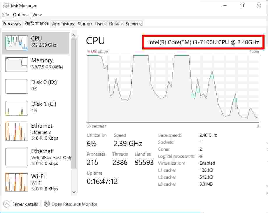 How to Find Out Which CPU You Have