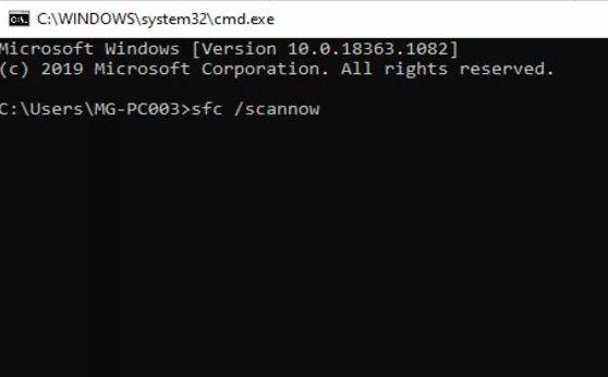 How to Overcome File Explorer Not Responding Through System File Checker