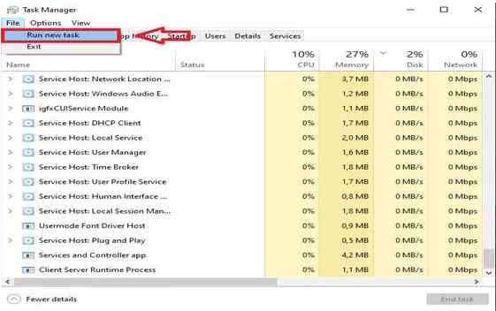 How to Overcome File Explorer Not Responding Through the Task Manager