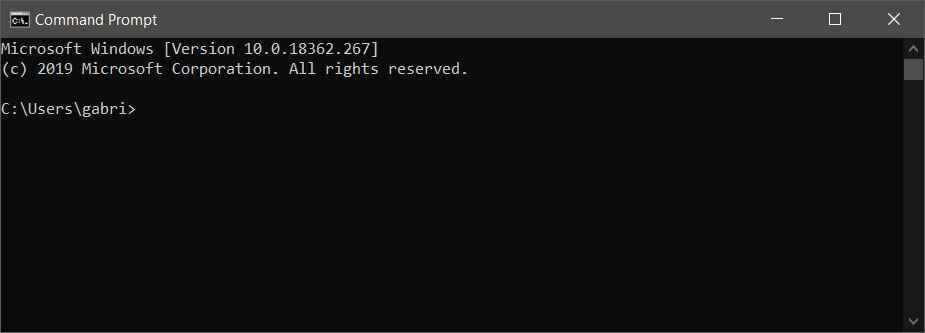 How to Quickly Open Command Prompt in Windows 10