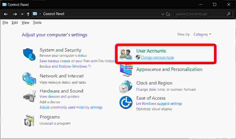 How to Reset Windows 10 Administrator Password with Another Admin Account