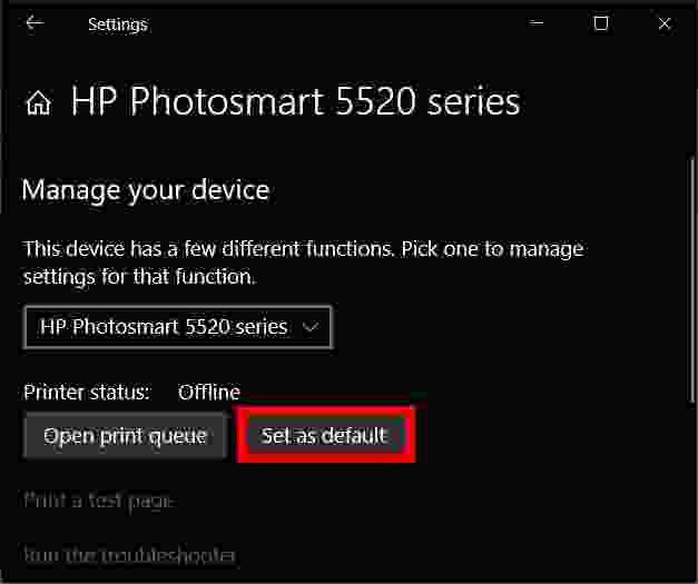 How to add a printer in Windows 10 via USB