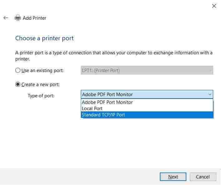 How to add a printer in Windows 10 via WiFi