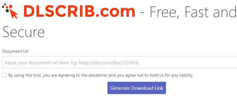 How to download files on Scribd without logging in