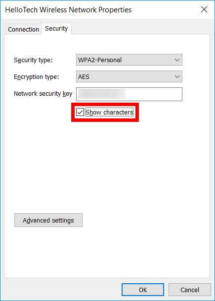 How to know WiFi password on Windows 10 PC