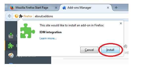 Installing IDM Add-ons Manually