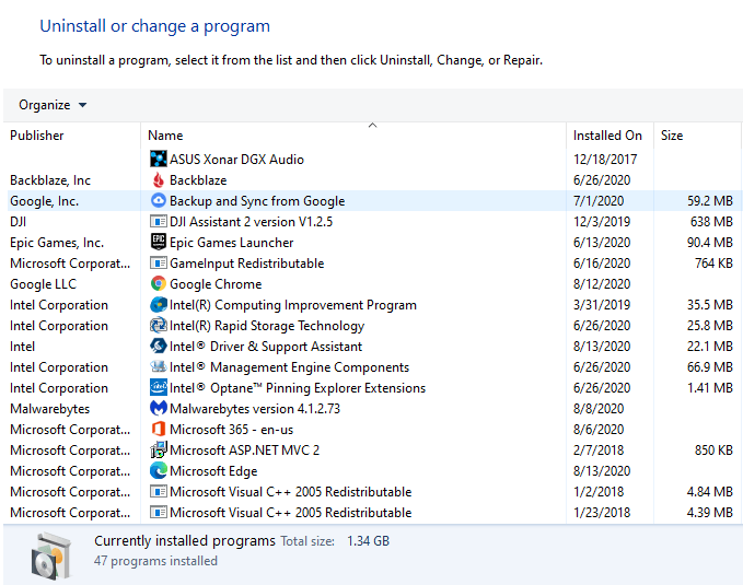 Remove Startup Items from Windows 10