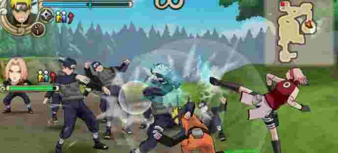 Download Naruto Ninja Impact 70 MB (High compress)