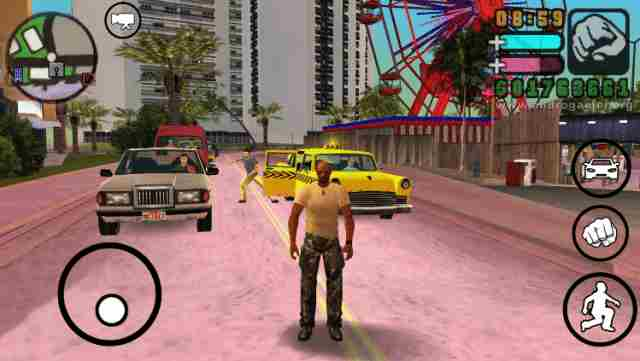 Grand Theft Auto (GTA) Game