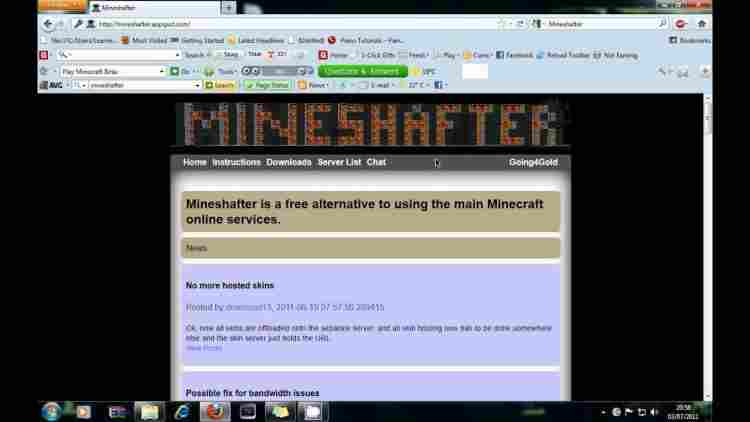 How to Download Minecraft Java Edition with Mineshafter