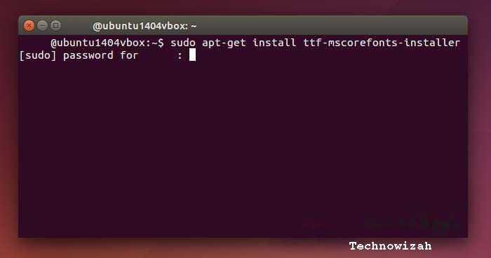 How to Install Windows Fonts on Ubuntu
