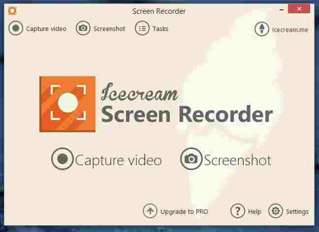 Icecream PC Screen Recorder