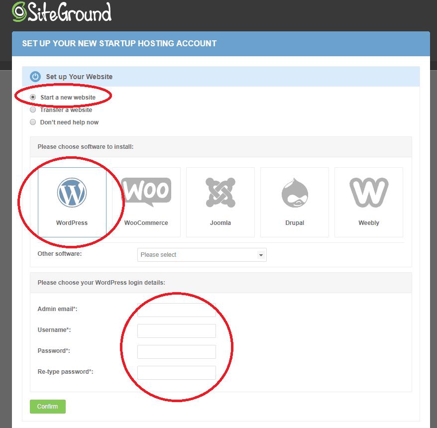 Installing WordPress