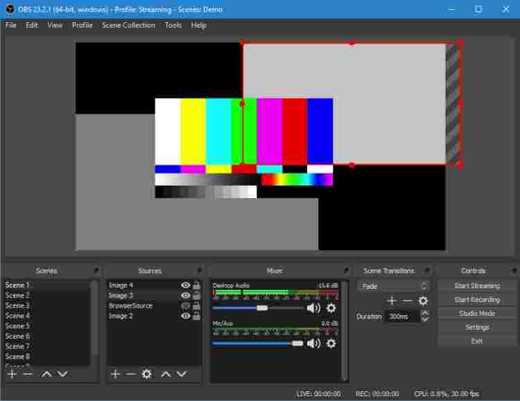 OBS Studio PC Screen Recorder Application