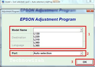 How To Download Resetter Epson L130 L220 L310 L360 L365