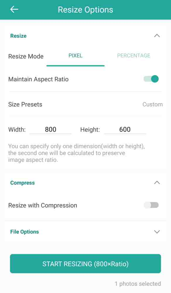 How to Reduce Photo Size on Android