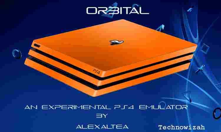 PS4 Emulator Orbital