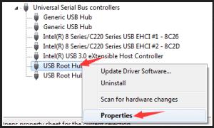 Repair the USB Root Hub